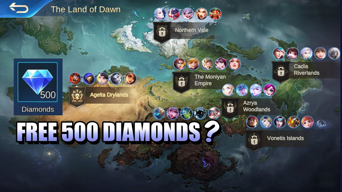 500 Diamond Gratis Mobile Legends