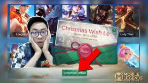 Bebas Pilih Skin Gratis MLBB, Gini Cara Main di Event Christmas Wish