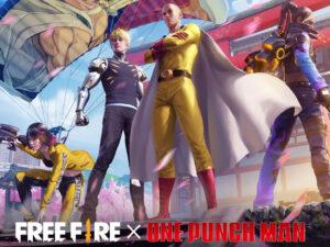 Resmi! Kolaborasi Free Fire x One Punch Man Sudah Dikonfirmasi