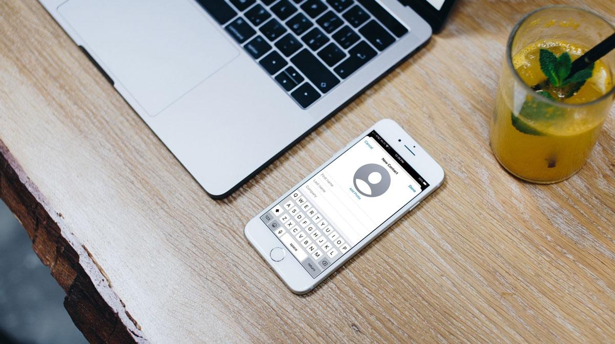 Cara Melihat Total Jumlah Kontak di iPhone