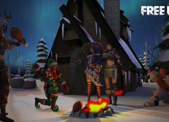 Gloo Wall Skin Free Fire (FF) Santa Claus