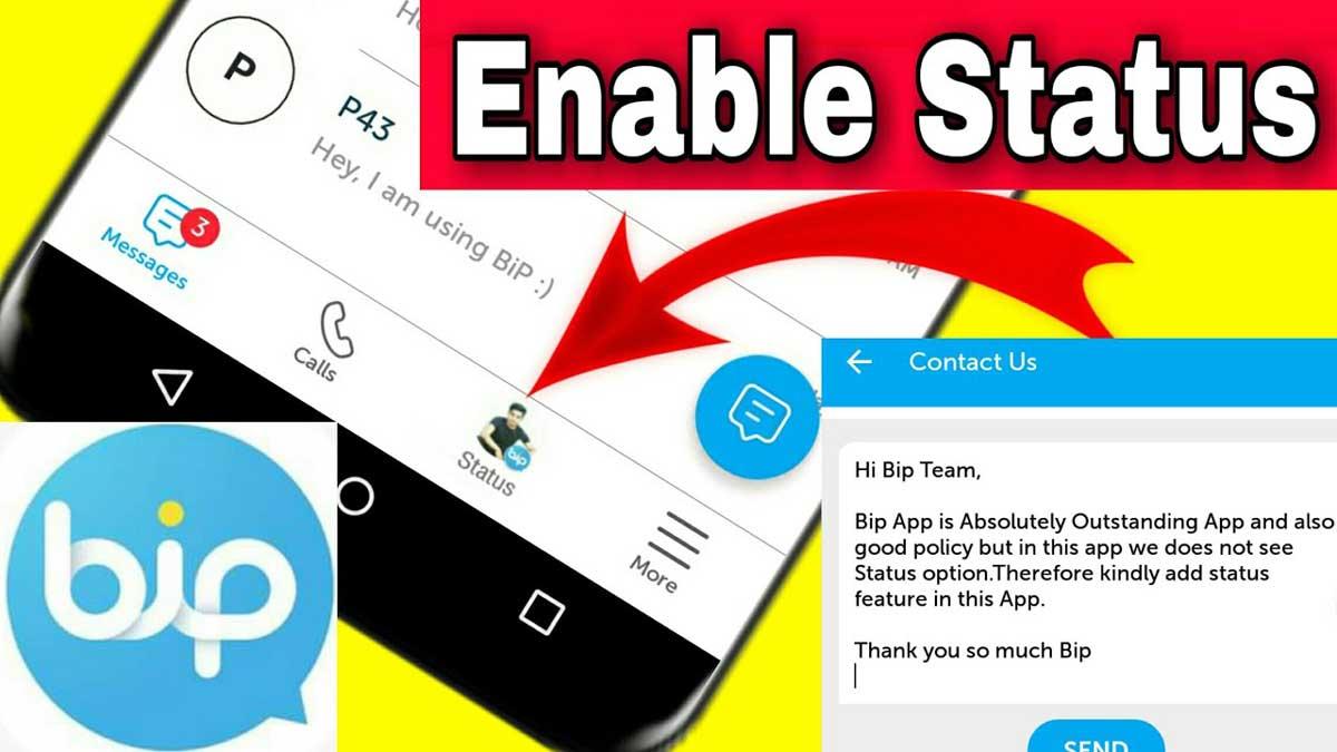 Cara Bikin Status di BiP Layaknya WhatsApp