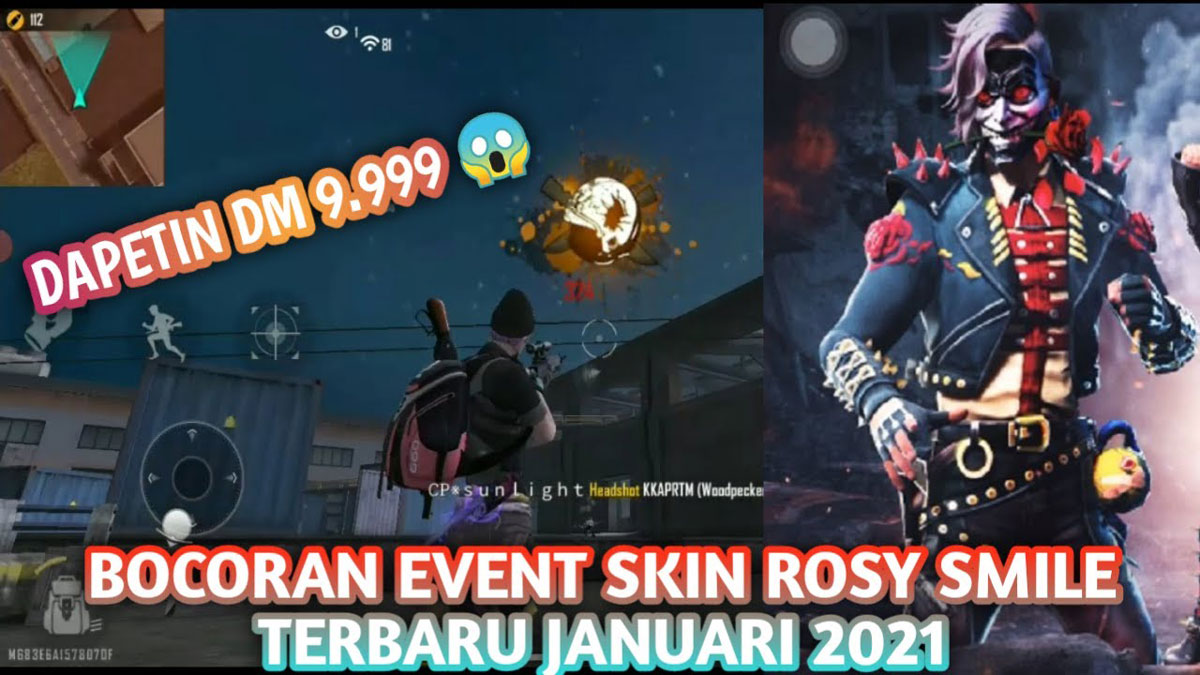 Event Rosy Smile Free Fire