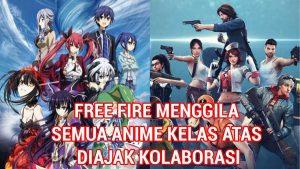 Bocoran Bundle Kurumi Date A Live X Free Fire (FF)