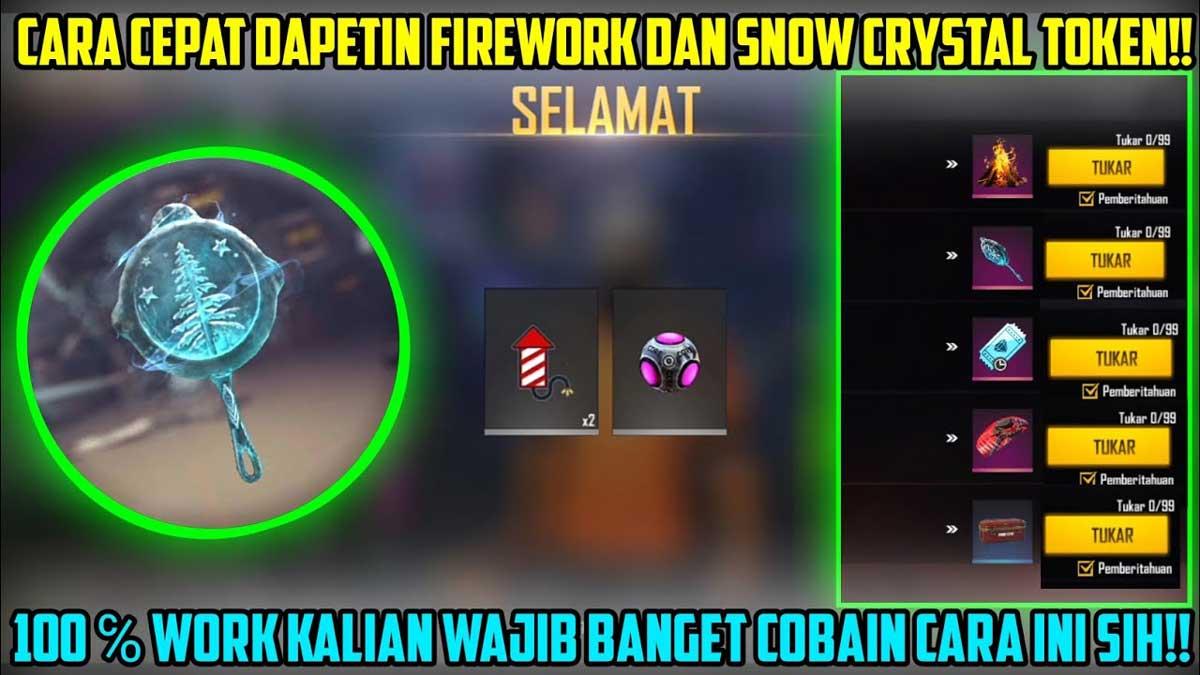 Snow Crystal Token FF