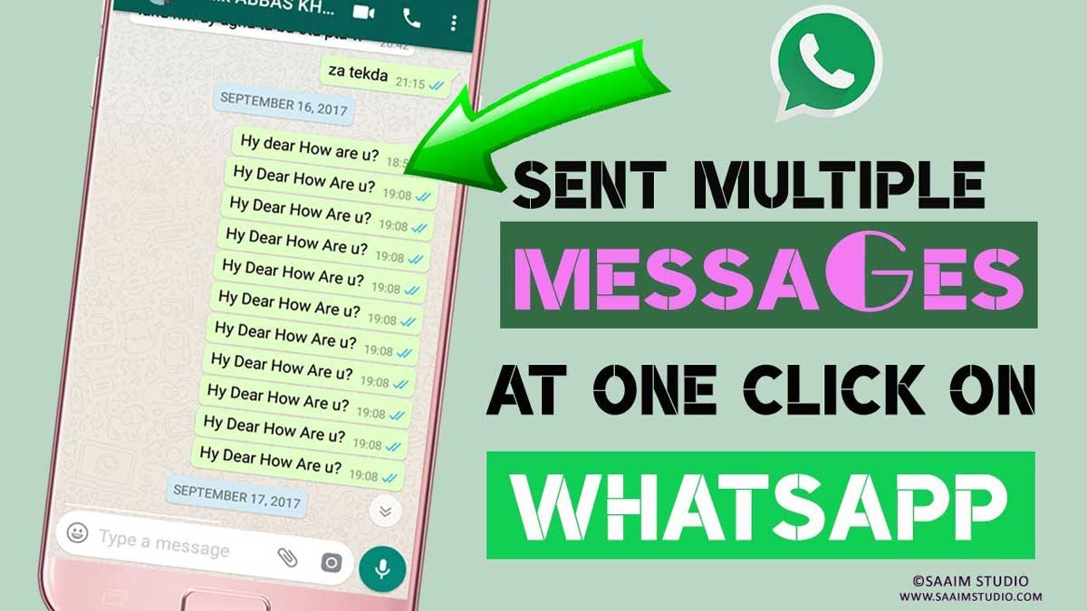 String Repeater WhatsApp