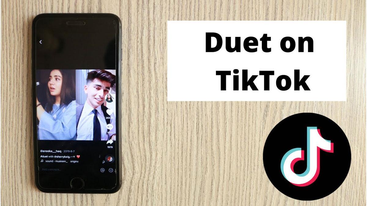 Cara Duet di TikTok
