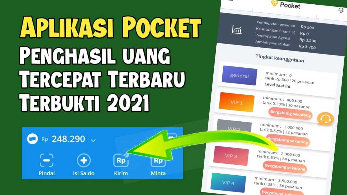 Pocket Apk Aplikasi Penghasil Uang Di Android Apakah Aman Atau Penipuan Tekno Dila