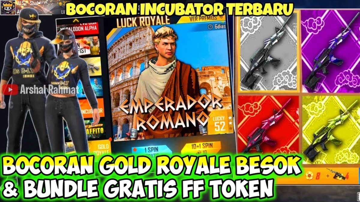 Bocoran Bundle Gold Royale Free Fire Patch Cobra