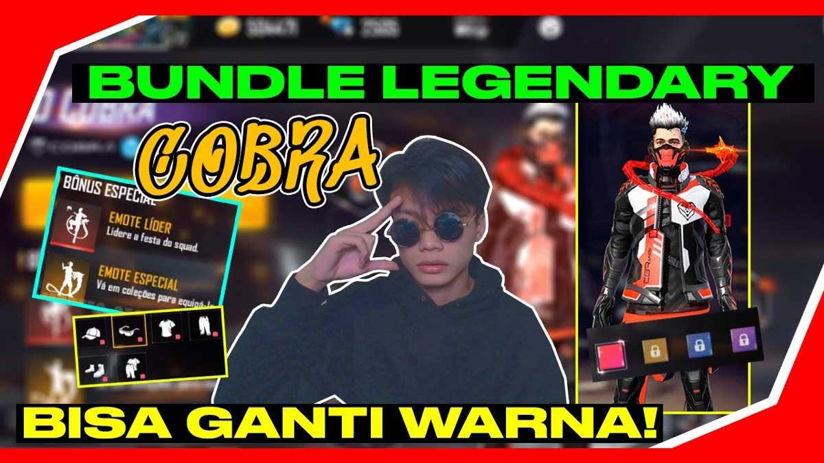 Bundle Legendary Cobra FF