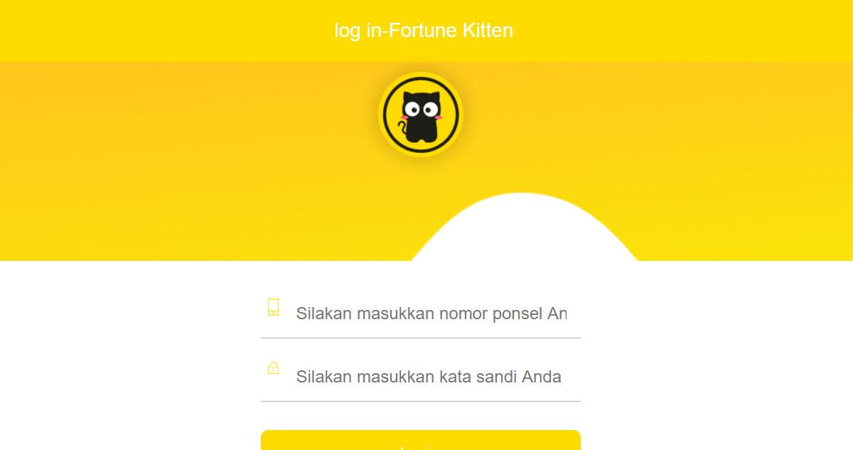Fortune Kitten