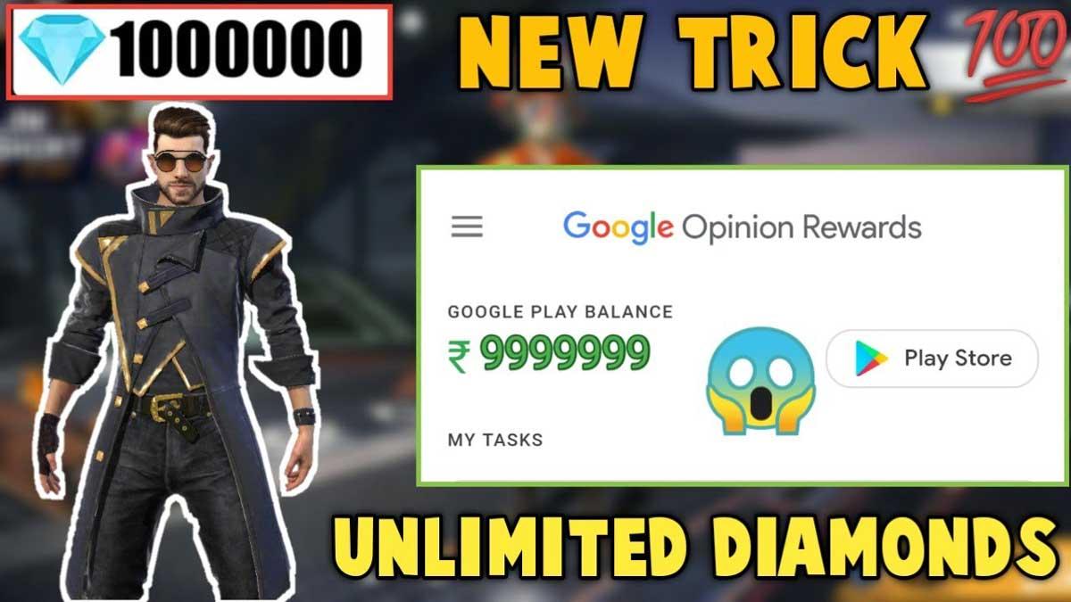 Free Fire Diamonds & Rewards