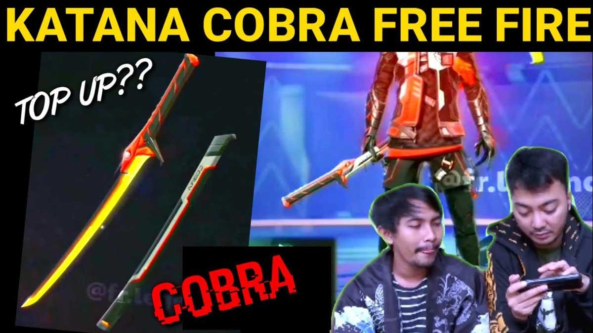 Katana Cobra Free Fire
