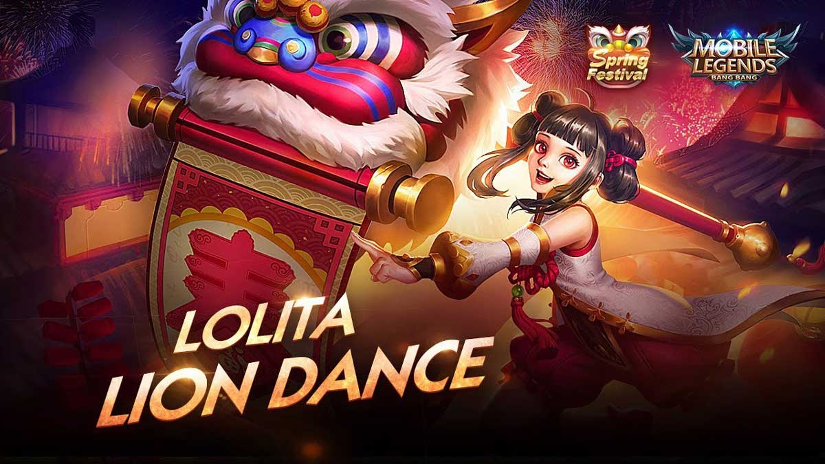Lion Dance Pack Mobile Legends