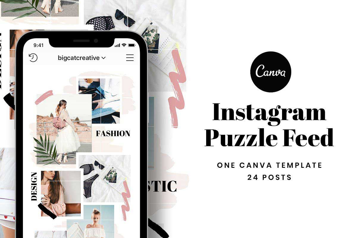 Puzzle Feed Instagram
