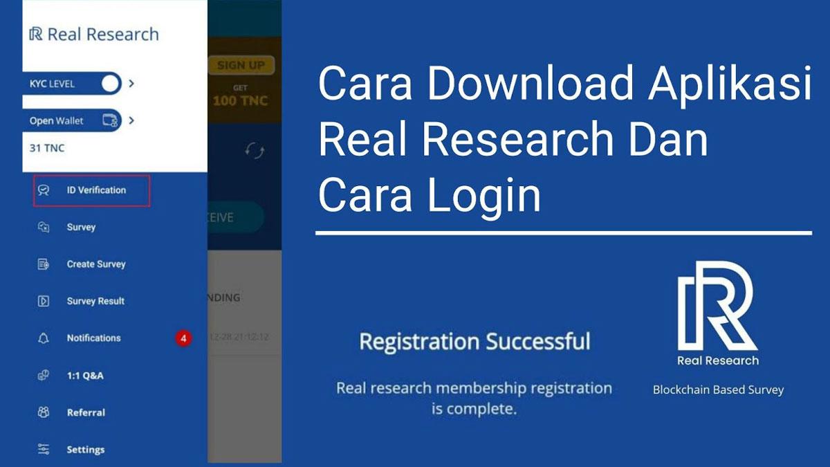 Real Research penghasil uang