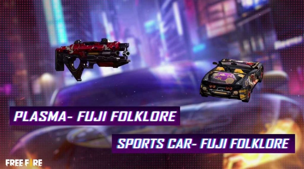 Skin Sport Car dan Skin Senjata Plasma