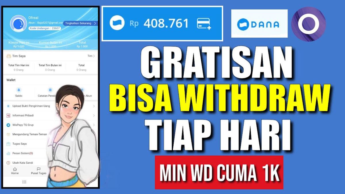 WixPayy Apk Penghasil Uang