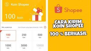 Cara Mengirim Koin Shopee ke Teman Dengan Mudah