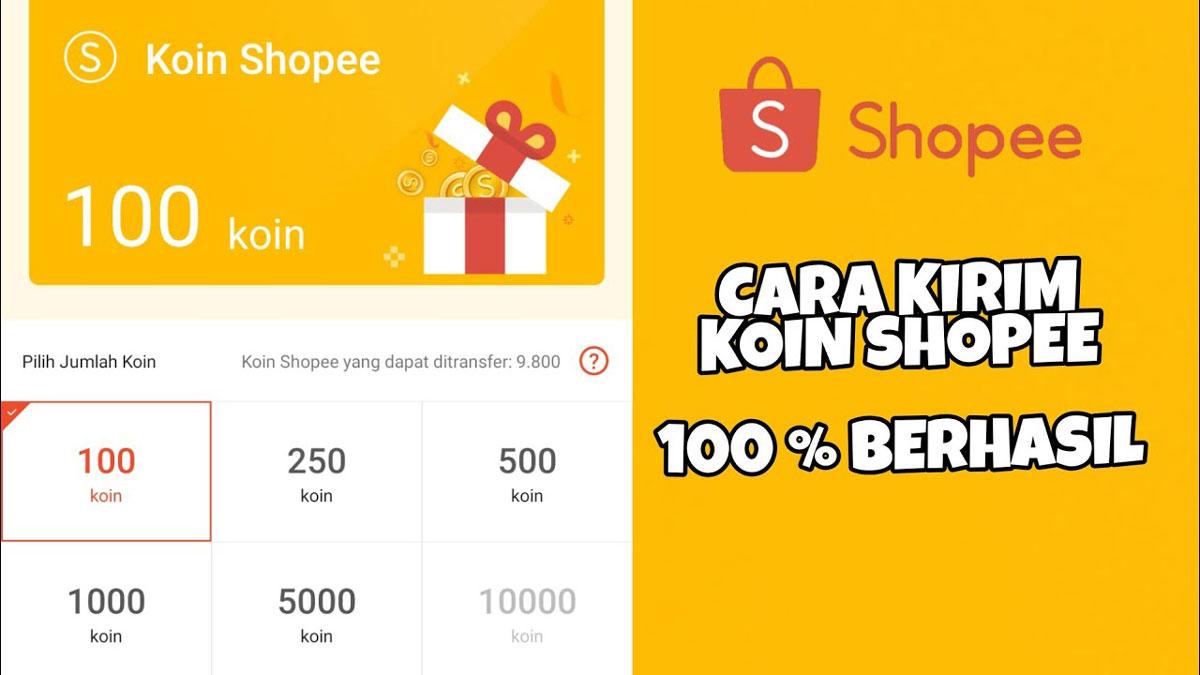 Cara Mengirim Koin Shopee