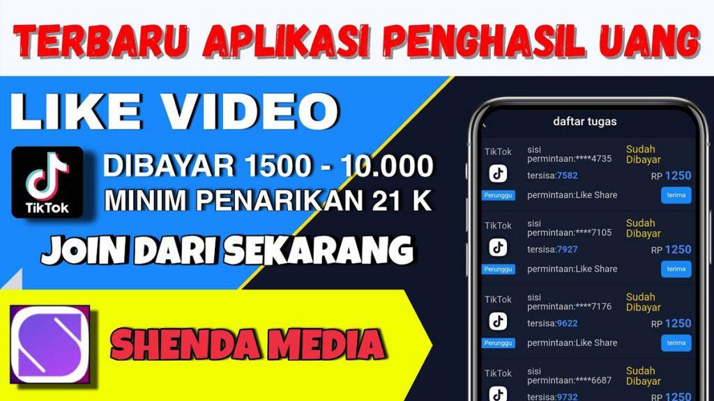 Aplikasi Shenda Media Apk Penghasil Uang Aman atau ...