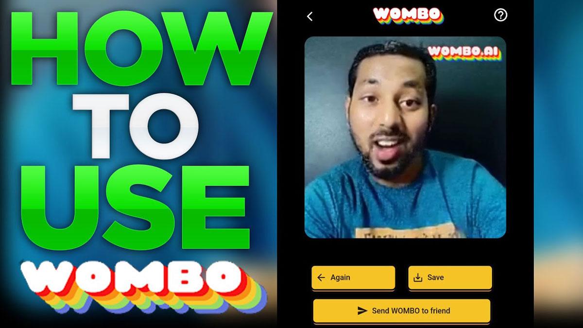 Aplikasi Wombo Al