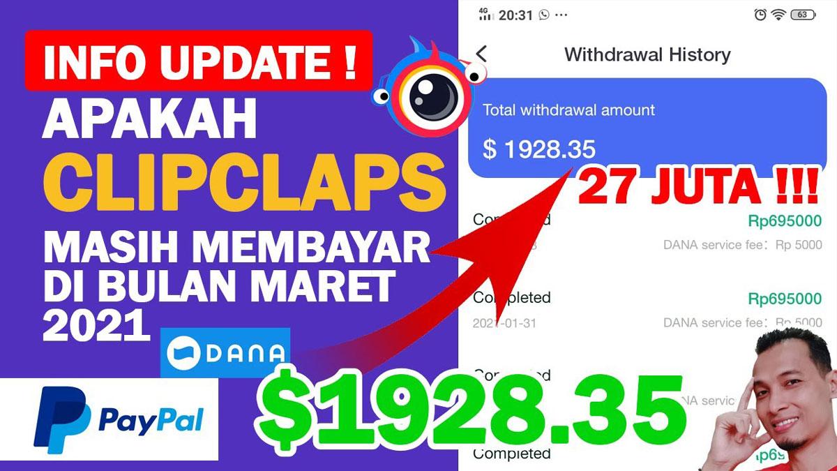 ClipClaps Penghasil Uang