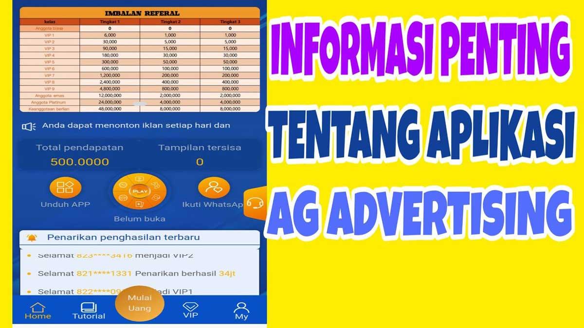 ag advertising penghasil uang