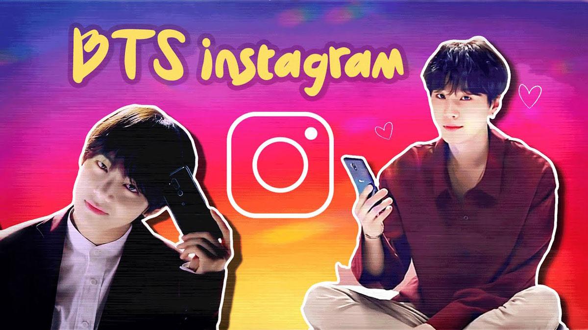 member bts tidak punya instagram