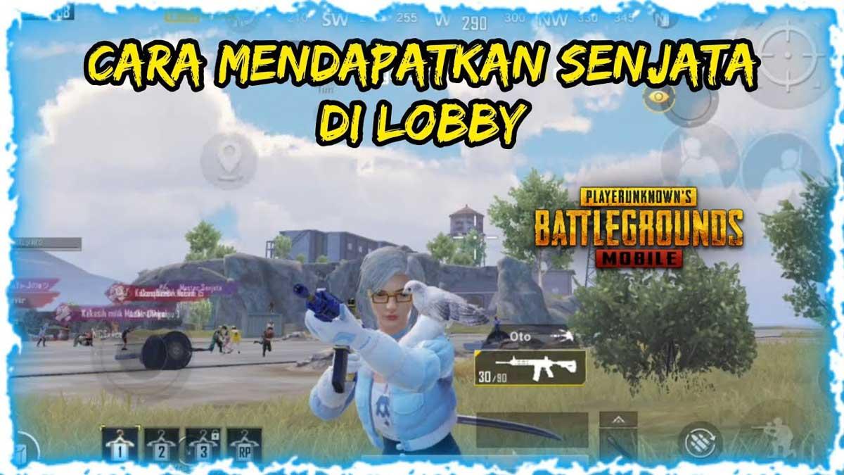senjata di lobby pubg