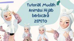 Cara Membuat Zepeto Hijab Style