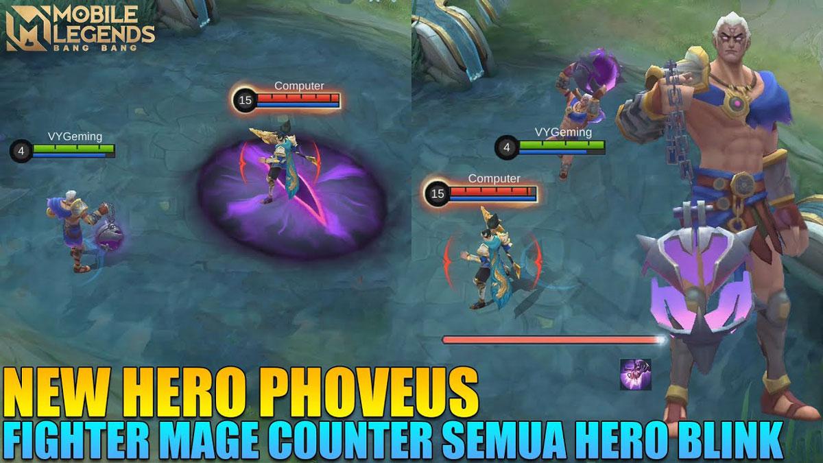 Hero Phoveus Mobile Legends
