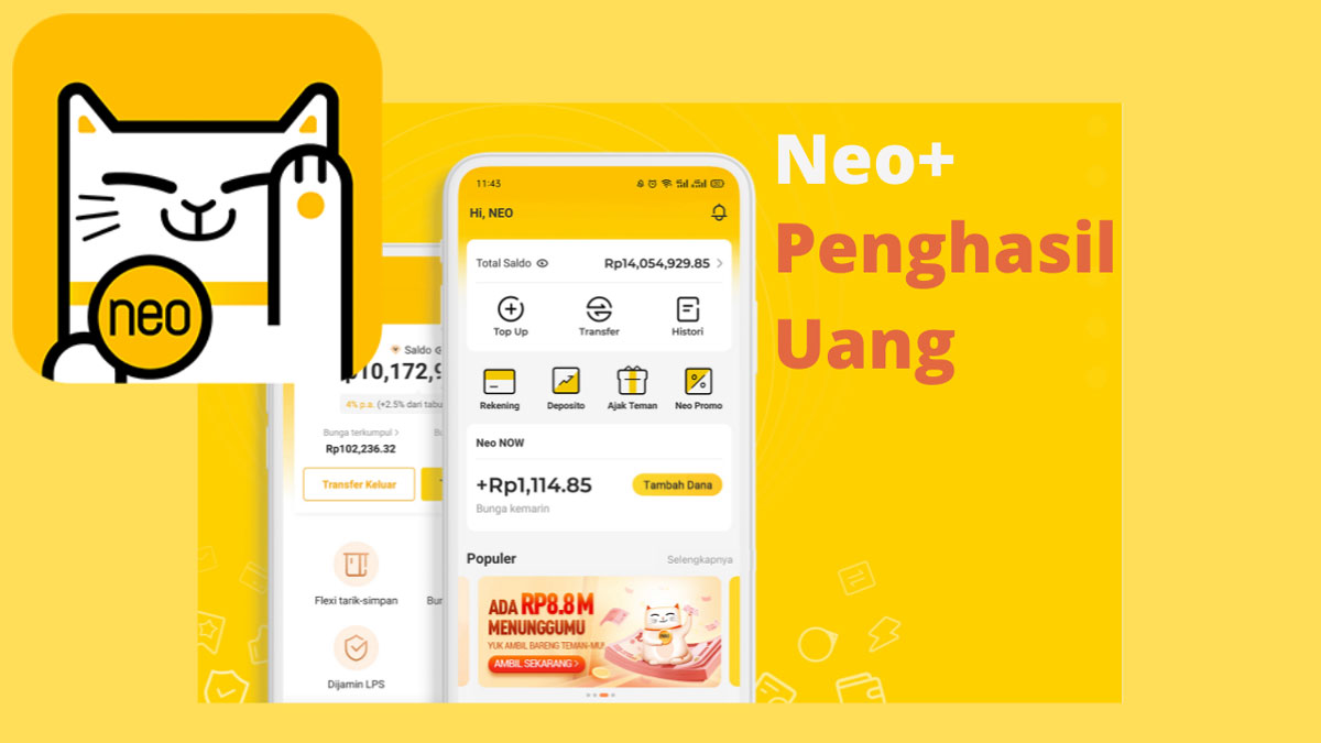 Neo+ Penghasil Uang
