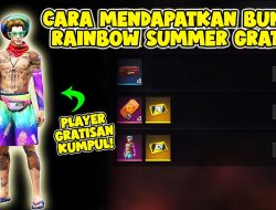 Cara Dapat Bundle Rainbow Event 1 Milyar Survivor Free Fire (FF)