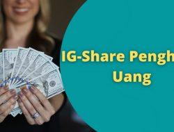 IG-Share Apk Penghasil Uang Asli atau Scam?