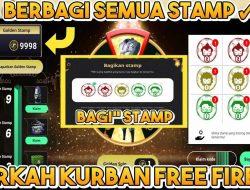 Kode Stamp FF Event Berkah Kurban Free Fire Klaim Disini