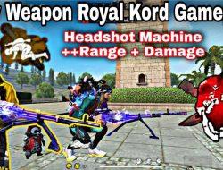 Bocoran Weapon Royale Terbaru Kord Shinobi Killspark Free Fire