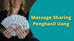 Massage Sharing Penghasil Uang