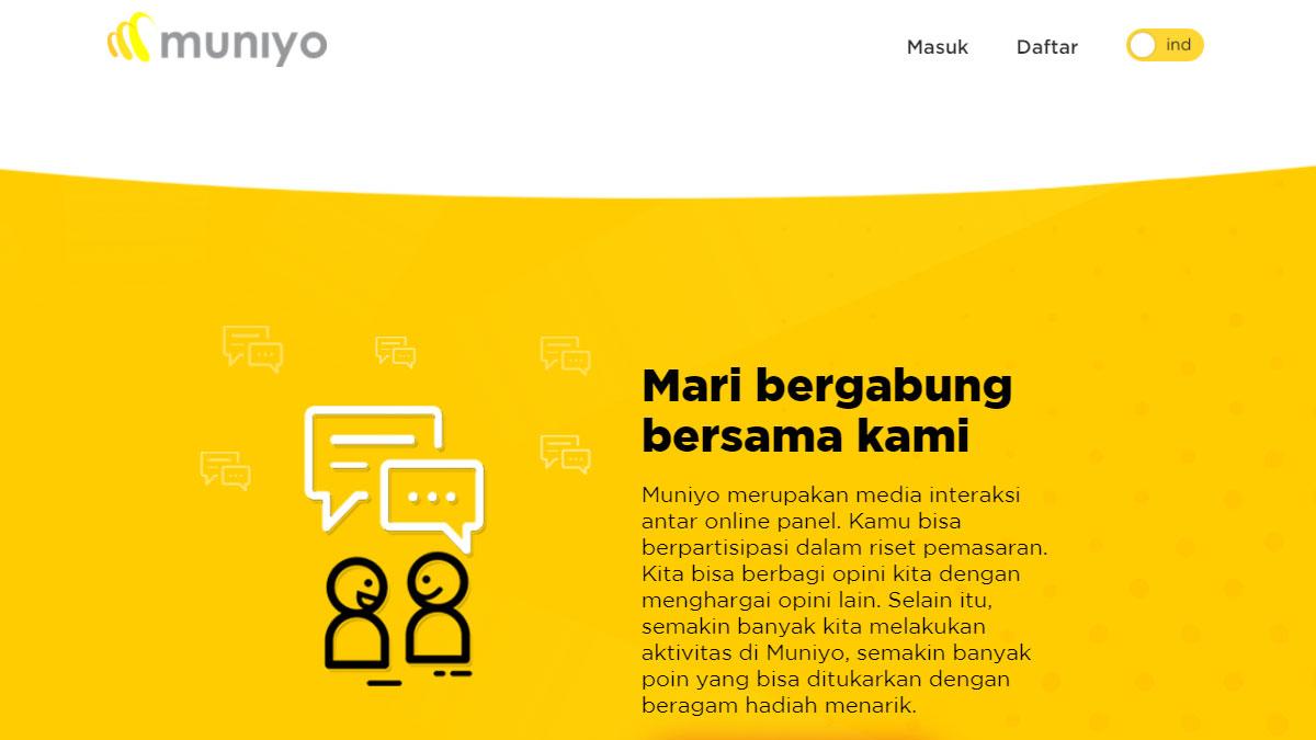 Muniyo Survey Penghasil Uang